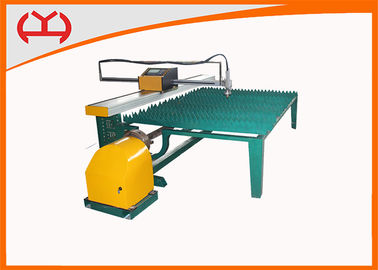 China High Efficiency Automated Sheet / Pipe Plasma Cutting Machine USB Transmission supplier