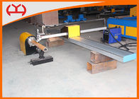 Metal Industry Oxygen CNC Pipe Cutting Machine Single Drive Combined Installation
