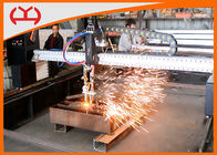 China Steel Metal Cnc Plasma Cutter Gantry CNC Cutting Machine With Auto Ignition Device factory