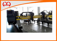 China High Precision Gantry CNC Cutting Machine With HPR Plasma / EDGE Controller factory