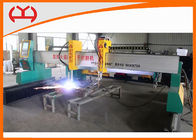 China High Efficiency Industrial CNC Plasma Cutter Flame / Plasma Gantry Cutting Machines factory