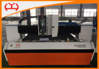Carbon Steel /  Iron Metal CNC Fiber Laser Cutting Equipment 1500 * 3000 mm