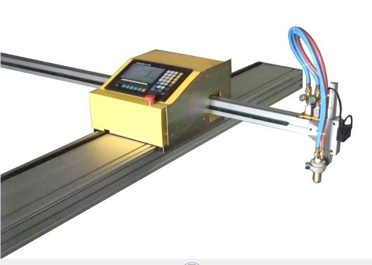 Automatically Memorize Portable Flame Cutting Machine Steel Plate Correction Function