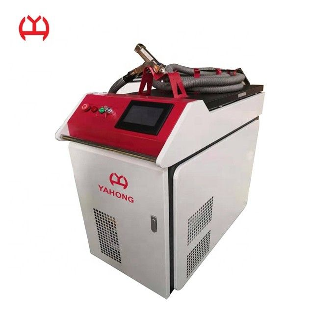 Cooper Portable Laser Welder , CNC Laser Welder Energy Saving For Various Metal Materials