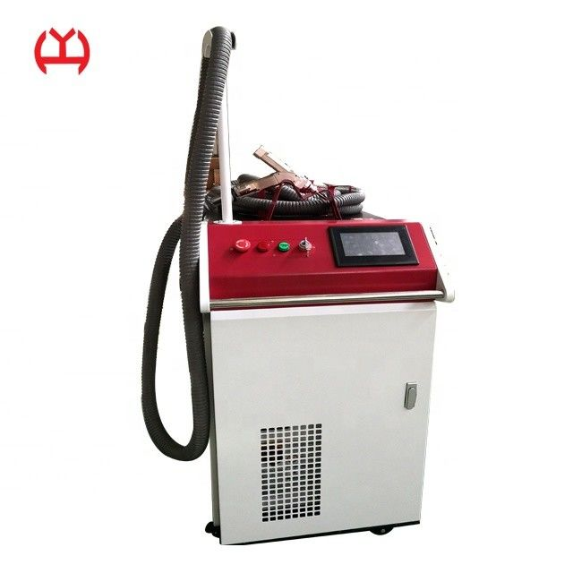 Air Cooled Laser Spot Welding Machine , Portable Laser Welding Machine High Cooling Rate