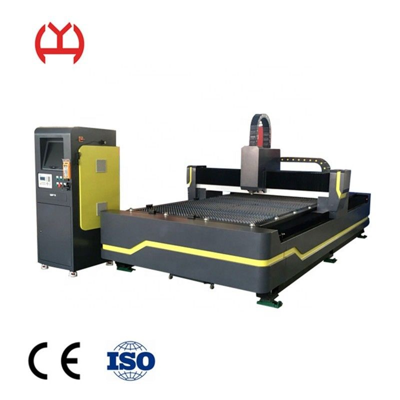 High Speed  500w CNC Fiber Laser Cutter For Copper SS MS Material Stable Running