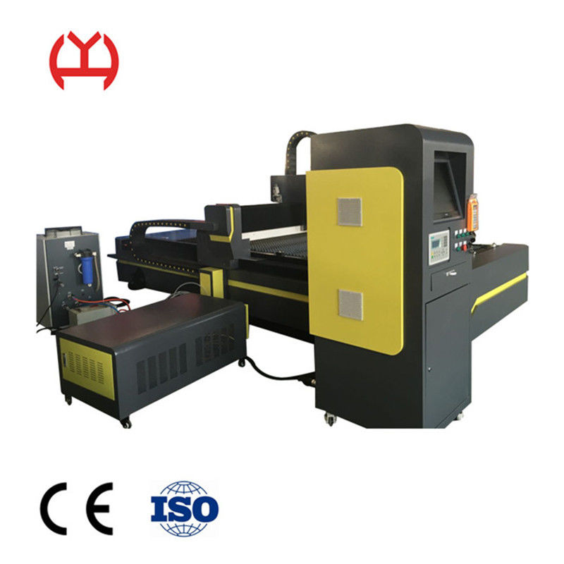 Aluminum 1000w Fiber Laser Metal Cutting Machine 220V Voltage IPG Control System