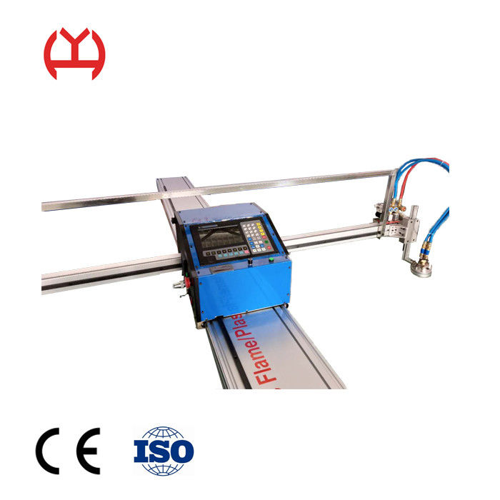 Iron Aluminum Fiber Laser Pipe Cutting Machine Portable With CE Certification