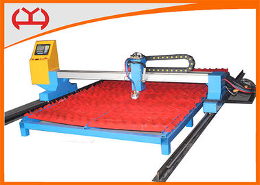 China Multi Languages Metal CNC Flame Cutting Machine with CNC Controller System distributor